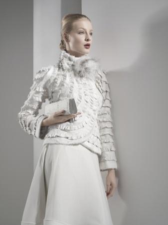 white furs